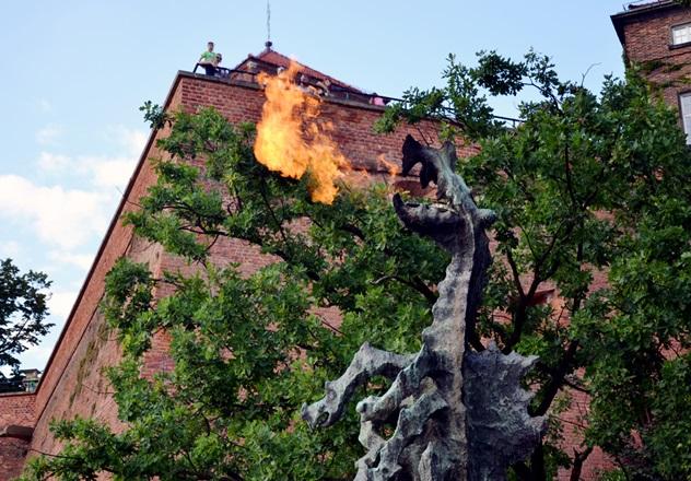 Wycieczka na Wawel i odwiedziny smoka