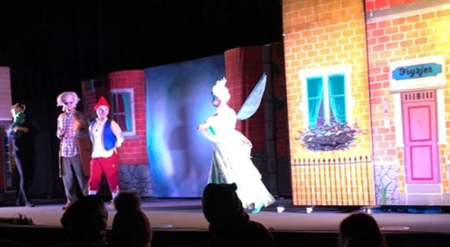 """Spektakl """"Pinokio"""" w Kinie Kijów"""
