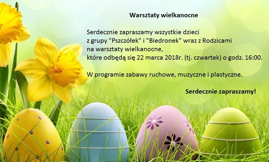 Warsztaty Wielkanocne dla Dzieci i Rodziców