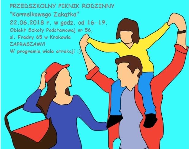 Przedszkolny Piknik Rodzinny – 22.06.2018