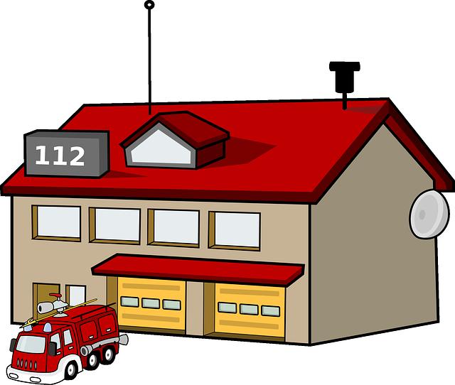 Smerfy w Straży Pożarnej